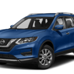 2019 Nissan Rogue in Caspian Blue Metallic