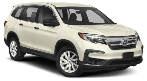 New 2019 Honda Pilot LX AWD 6AT