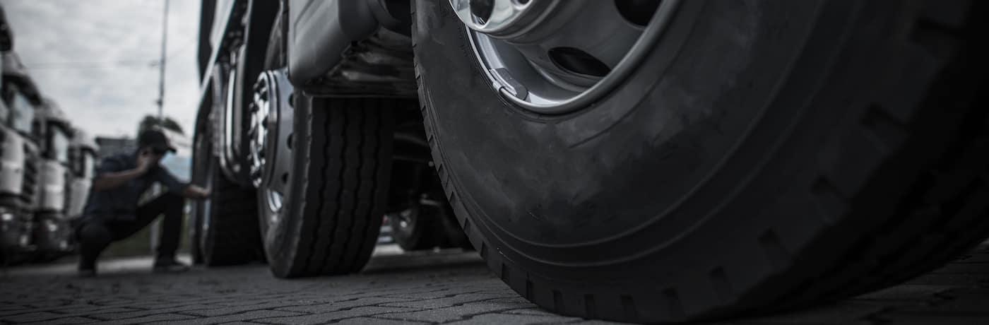 semi truck tire maintenance