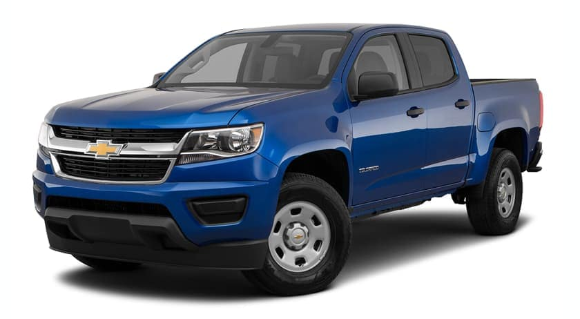 A blue 2019 Chevrolet Colorado in Buford, GA