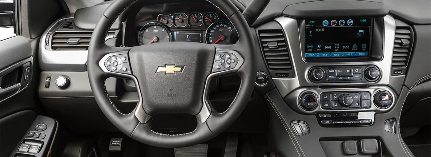 A look at the high-tech features inside a 2019 Chevy Tahoe.