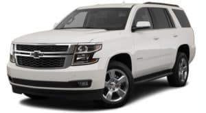 A white 2019 Chevrolet Tahoe - Buford, GA