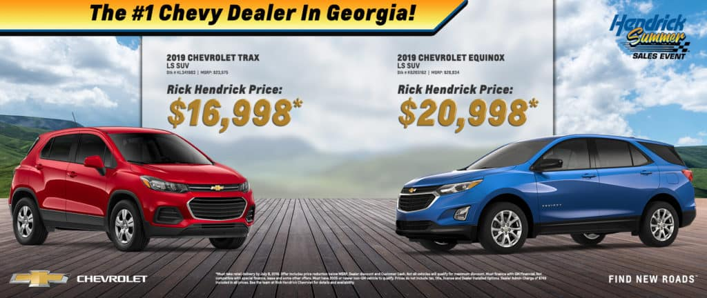 2019 Chevrolet Trax and Equinox