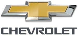 The Chevrolet bowtie logo