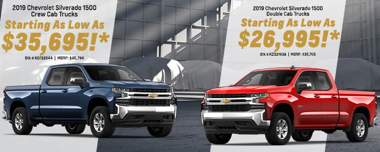 Current New Chevrolet Specials Offers Rick Hendrick
