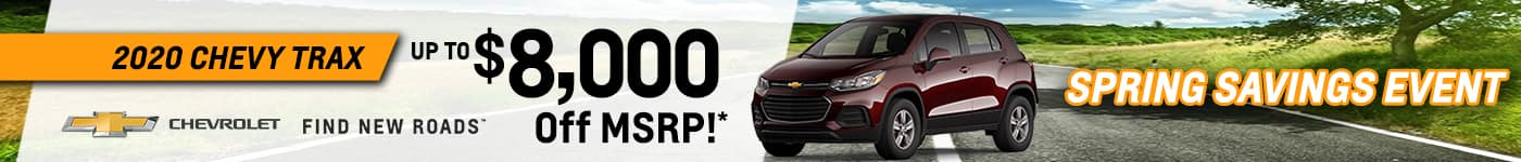 Rick Hendrick Chevrolet Duluth Mar21_TR_New Vehicle Incentives 1400×150 copy 2_0000_trax