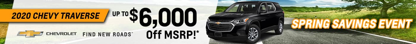 Rick Hendrick Chevrolet Duluth Mar21_TR_New Vehicle Incentives 1400×150 copy 2_0001_traverse