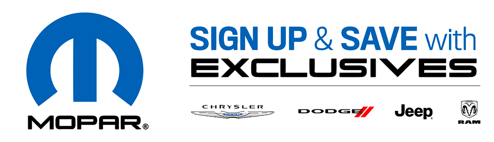 Mopar Sign Up and Save