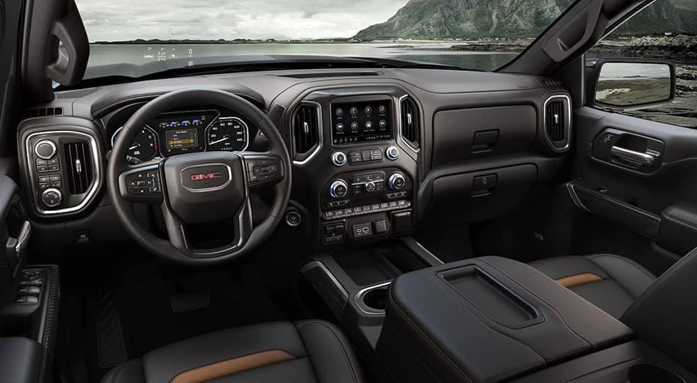 2019-GMC-Sierra-1500-AT4-dashboard