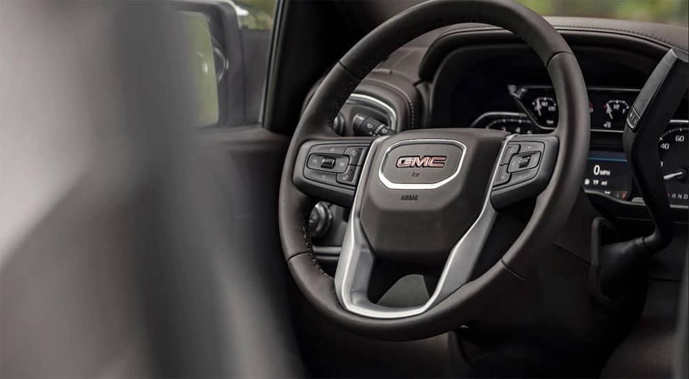 2019-GMC-Sierra-1500-SLT-Steering-Wheel