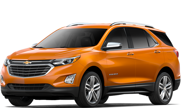 2019 Chevrolet Equinox Orange