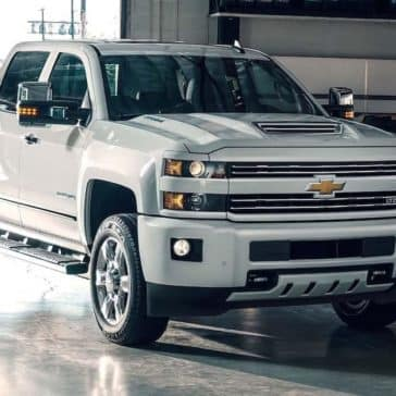 2019 Chevy Silverado 2500 Parked