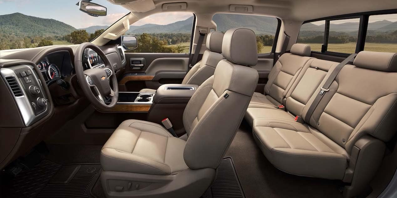 2019 Chevy Silverado 2500 Seating