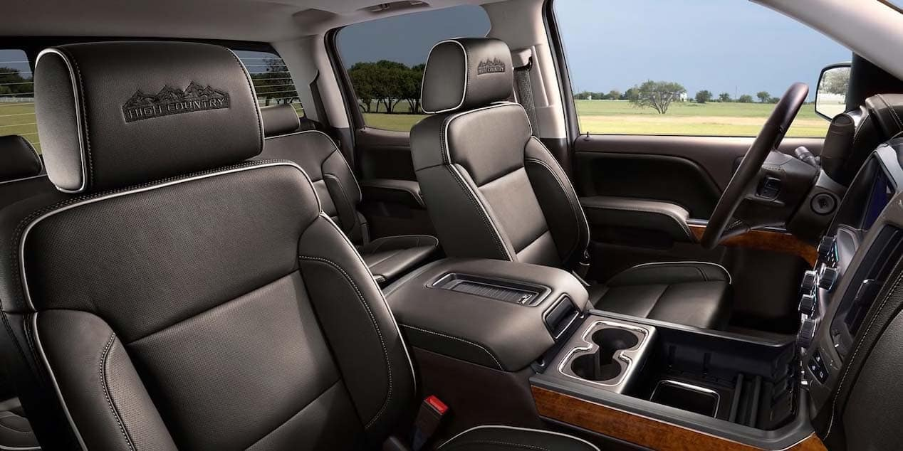 2019 Chevy Silverado 2500 Interior