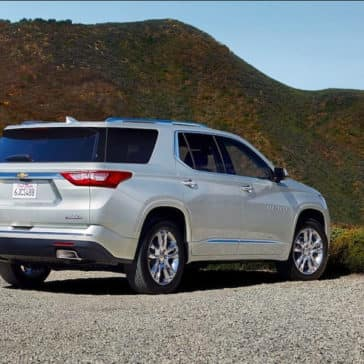 rear exterior of 2019 Chevrolet Traverse