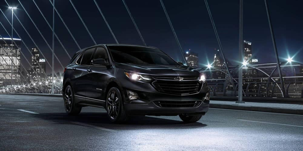2020 Chevrolet Equinox At Night