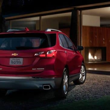 2020 Chevrolet Equinox Rear