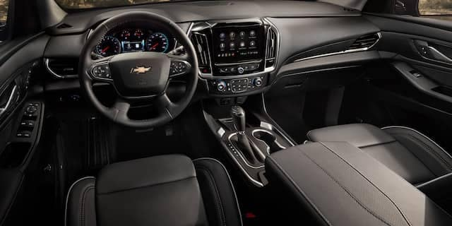 2020 Chevy Traverse Dash