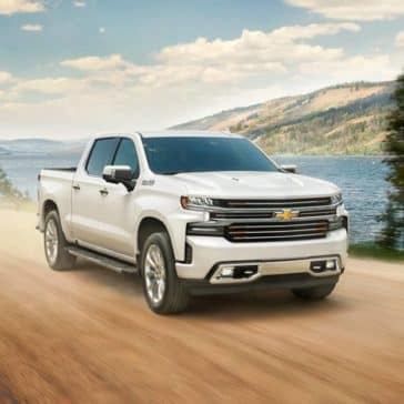 2020 Chevy Silverado 1500 Driving