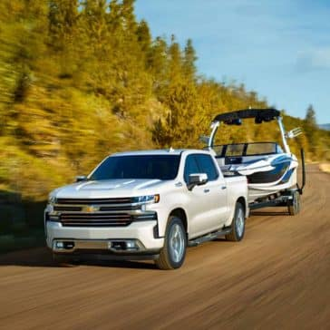 2020 Chevy Silverado 1500 Towing Boat