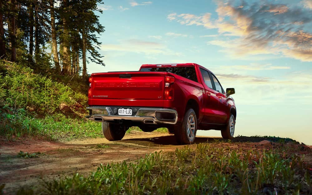 2020 Chevy Silverado 1500 Rear