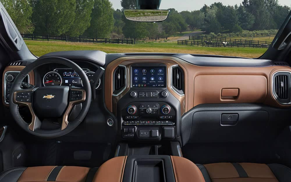 2020 Chevy Silverado 1500 Dash