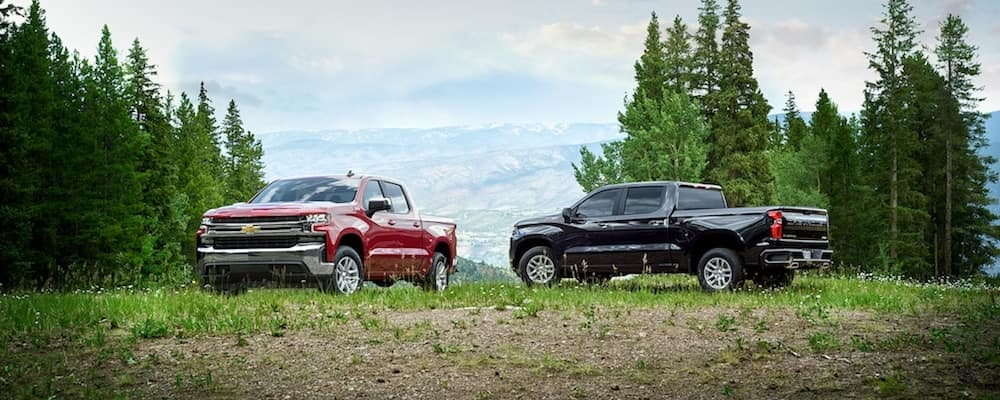 2020 Chevy Silverado Trims