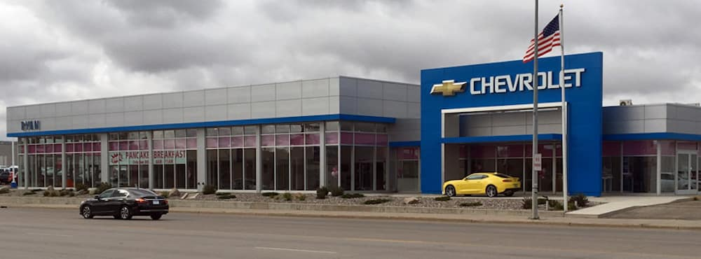 Exterior of Ryan Chevrolet Dealership