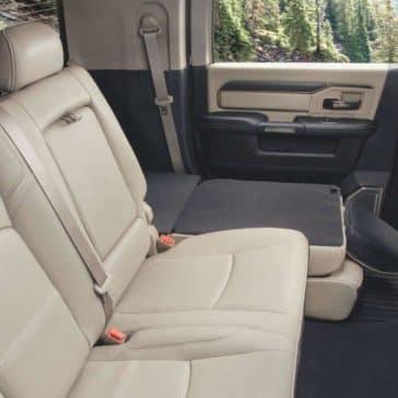 2020 Ram 2500 Backseat