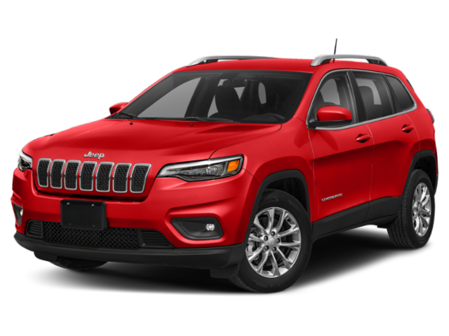 2020 Jeep Cherokee red
