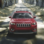 Red 2020 Jeep Cherokee