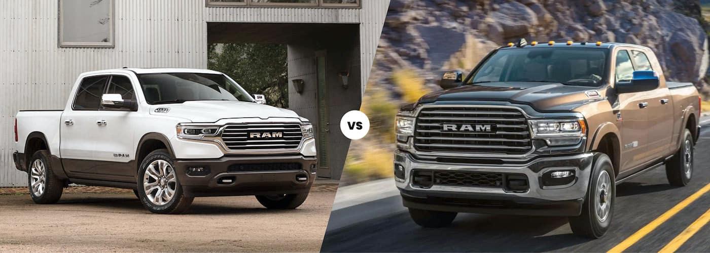 2021 Ram 1500 vs 2500