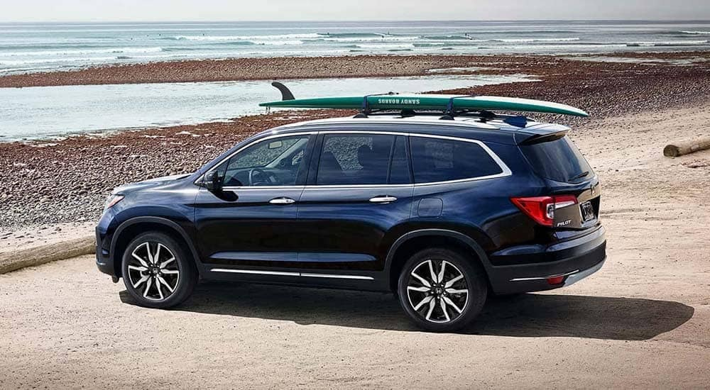2019 Honda Pilot At The Beach