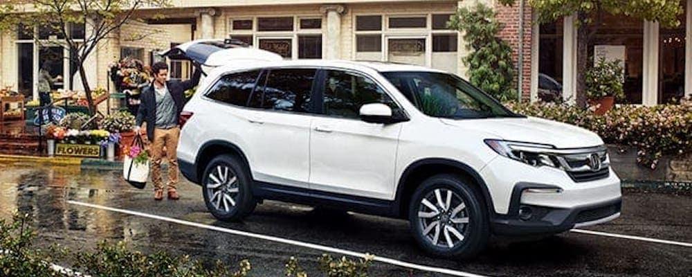 2020 Honda Pilot white