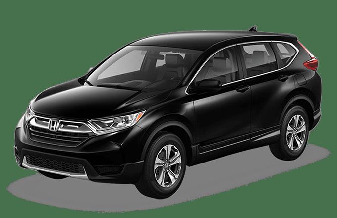 2019 Black Honda CRV