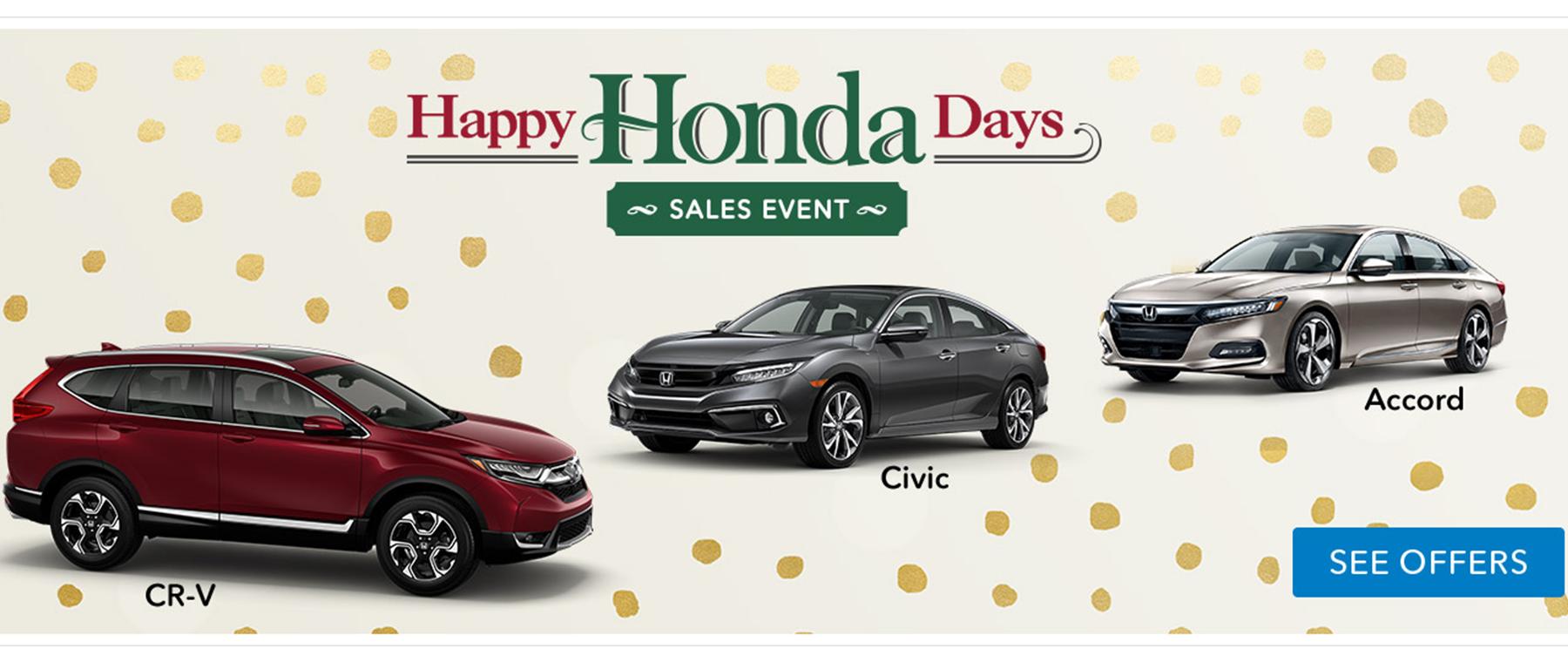 Happy Honda Days