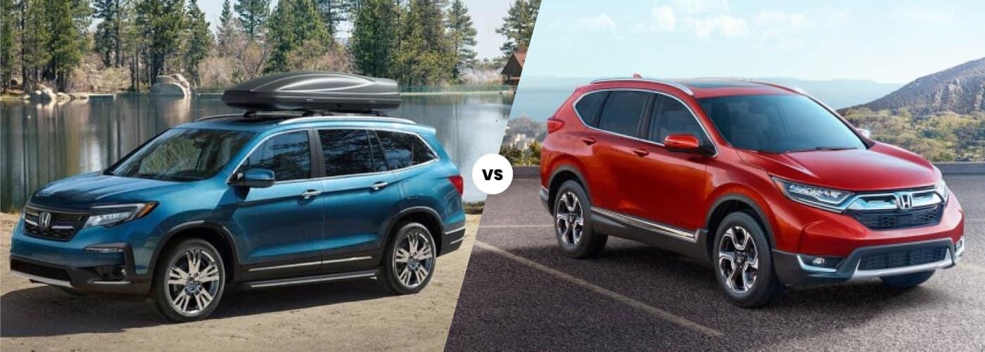 Honda Pilot vs CR-V