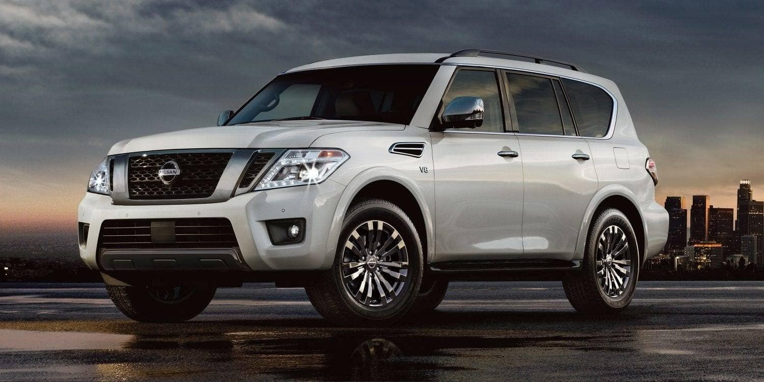 2019 Nissan Armada At Dusk