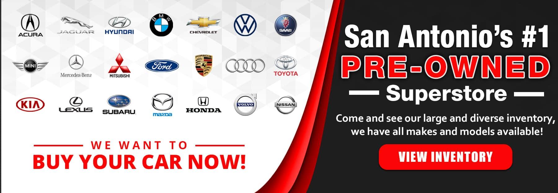 we want buy your car san antonio
