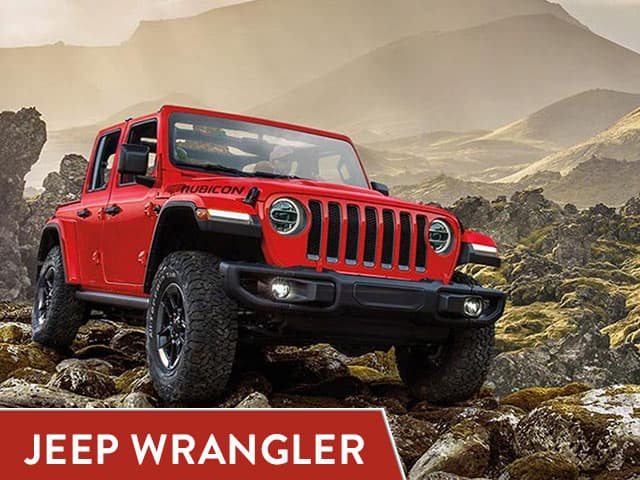 Red 2020 Jeep Wrangler lease deal in San Antonio, Texas