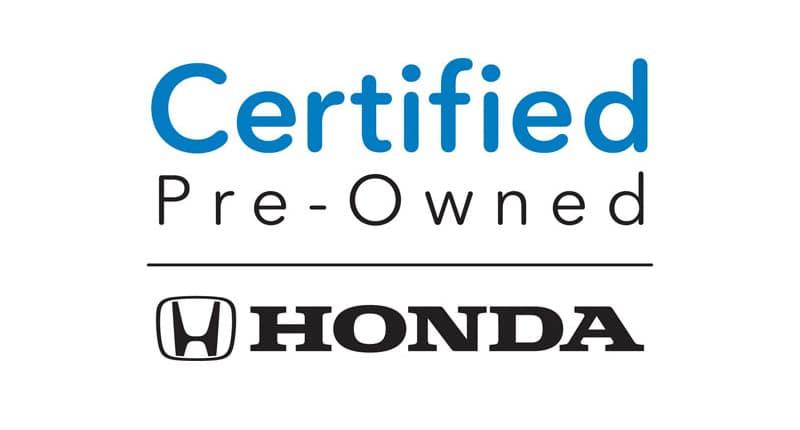 Certified Pre-Owned Hondas