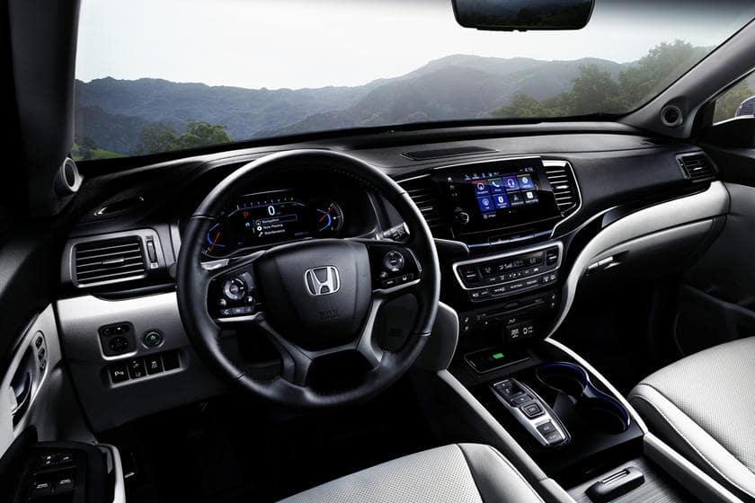 Honda Pilot Interior 2020 Serra Honda O'Fallon