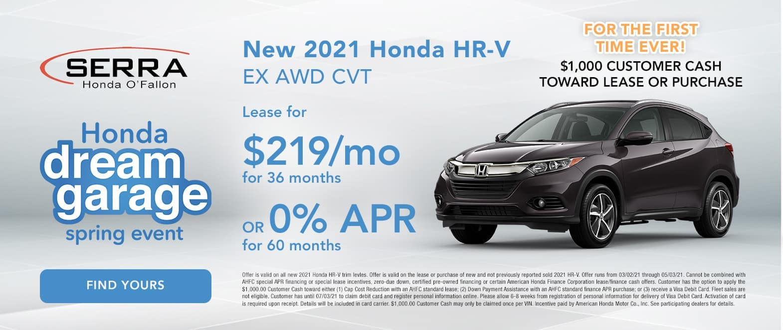 New Honda HR-V Special