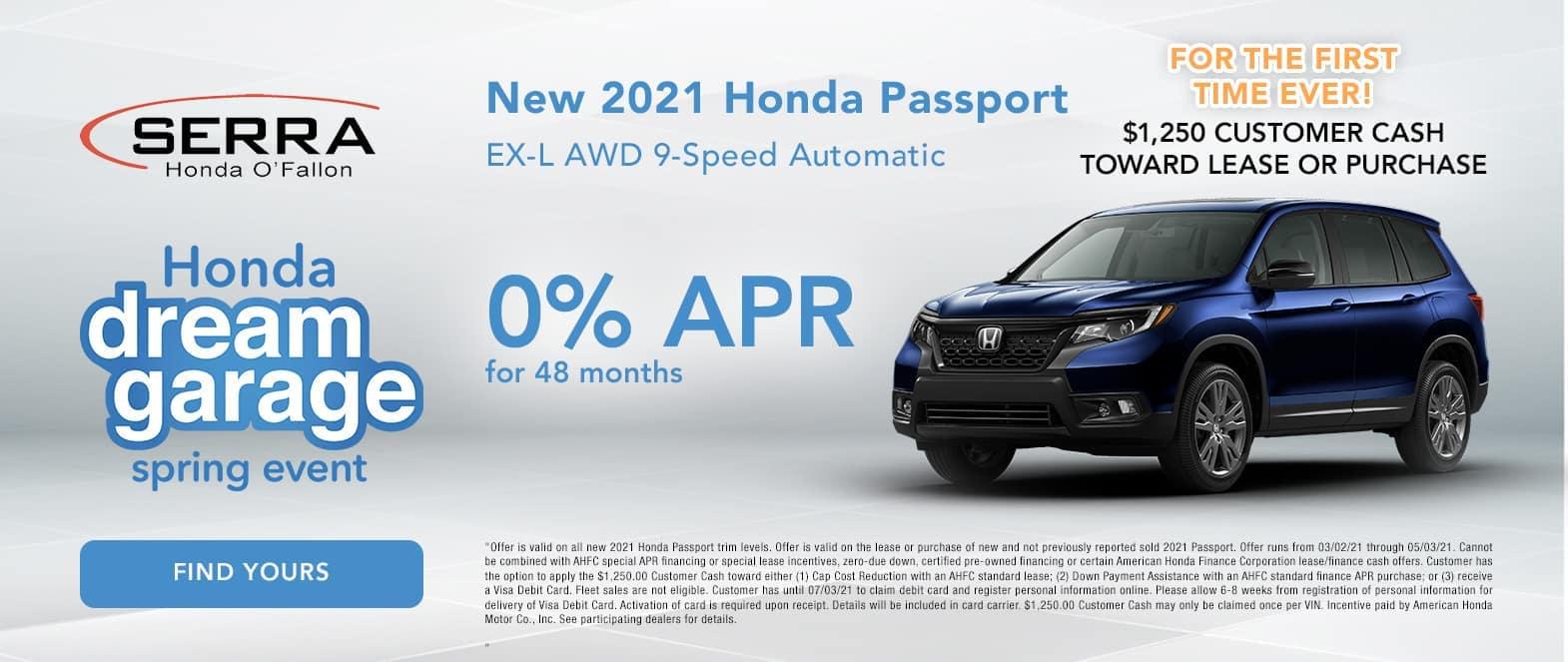 New Honda Passport Special