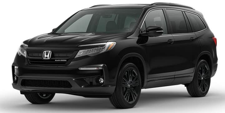 2022 Honda Pilot Black Edition Exterior