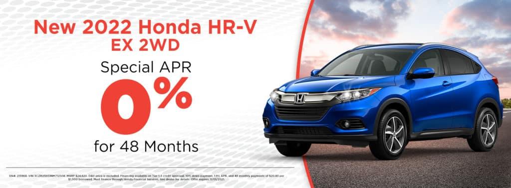 New 2022 Honda HR-V EX 2WD