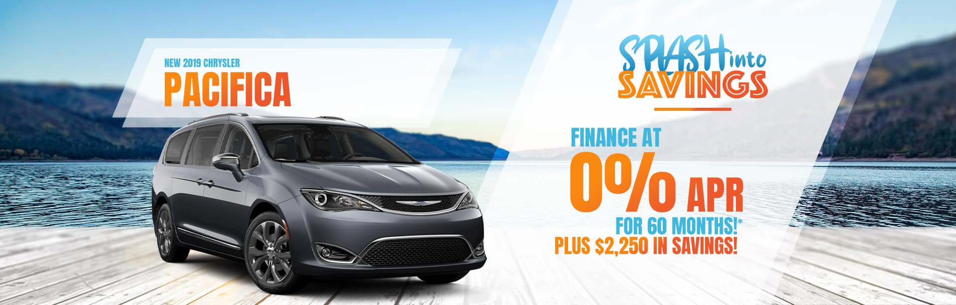 Get 0% for 72 Months on a New Pacifica in Auburn, Indiana