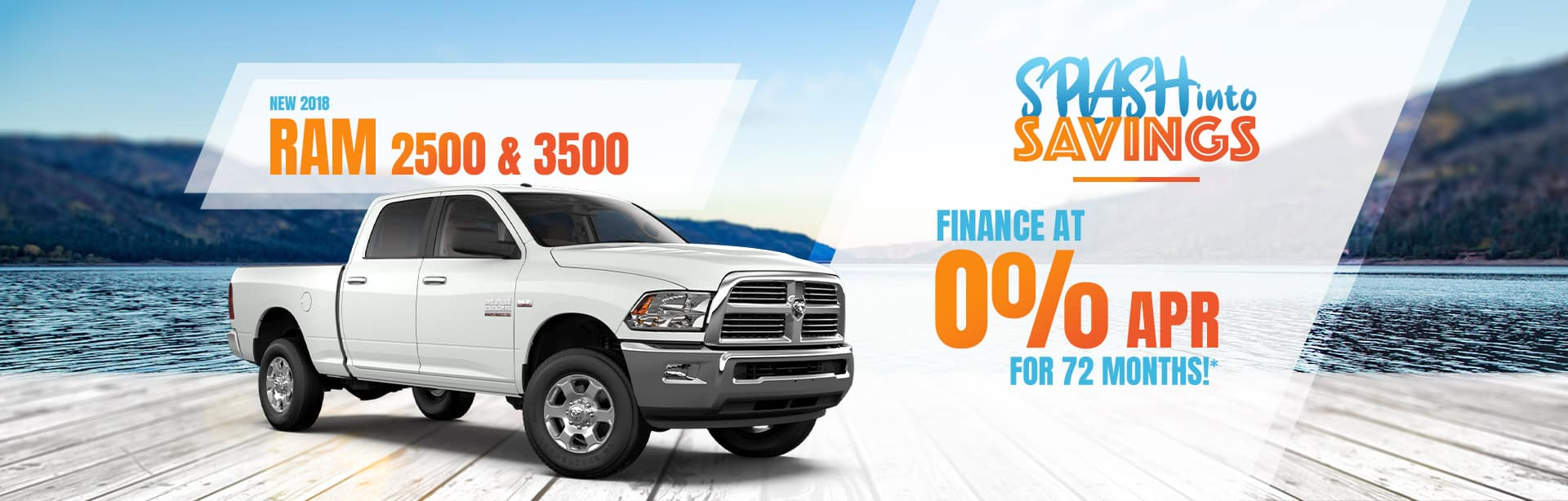 Finance a Ram 2500 or 3500 at 0% APR in Auburn, Indiana