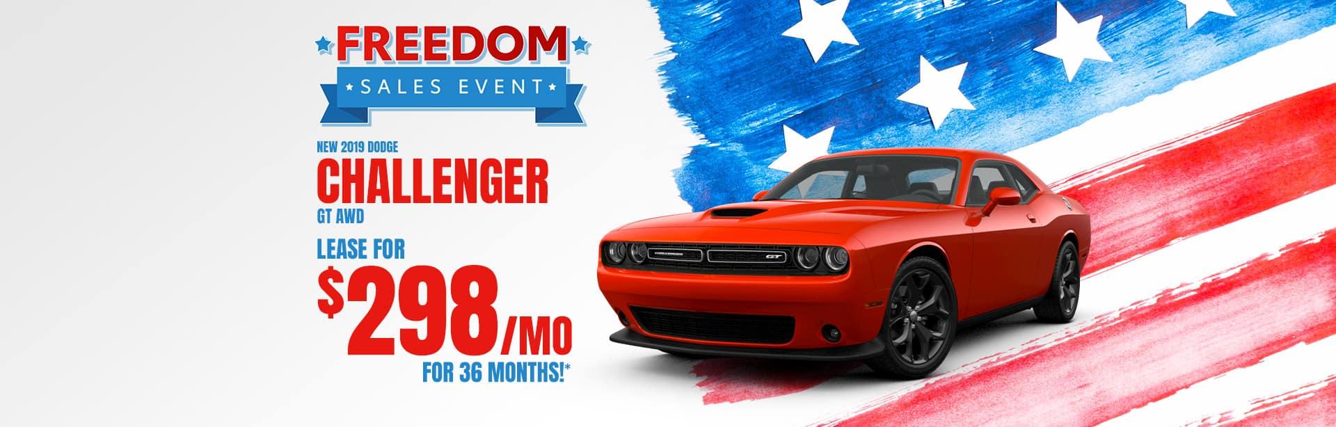 New Dodge Challenger Dealer near Fort Wayne, Indiana.