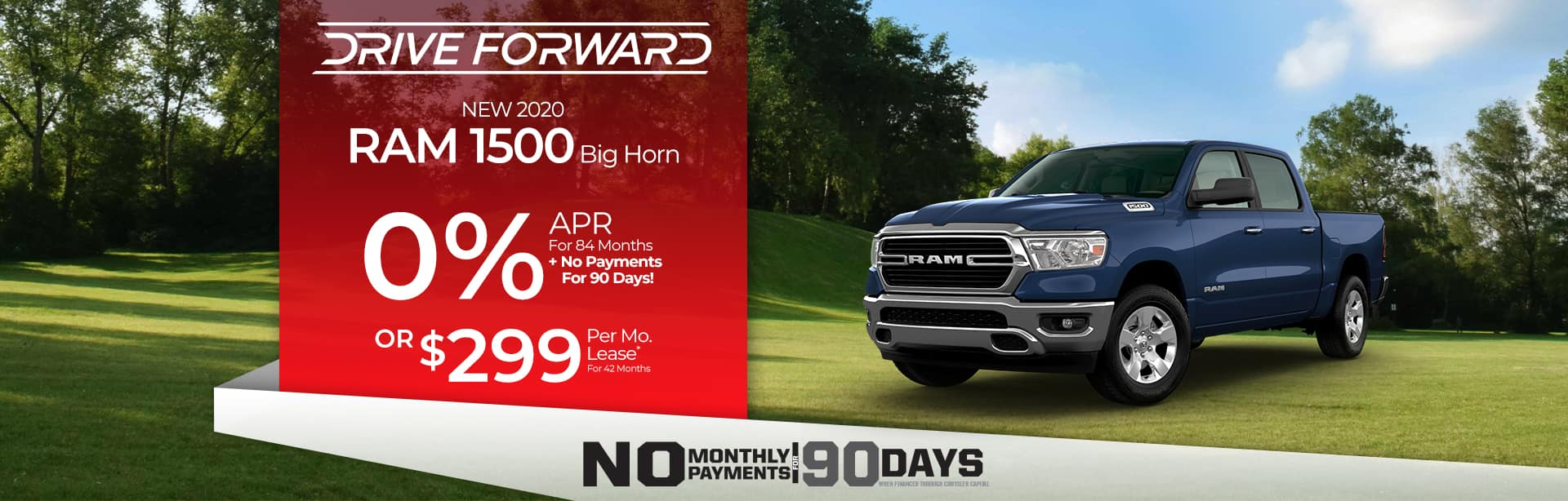 Finance Special on an All-New Ram 1500 Near Fort Wayne, Indiana